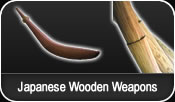 Japanese Wooden Weapons