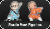 Shaolin Monk Figurines