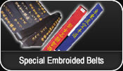 Special Embroidered Belts