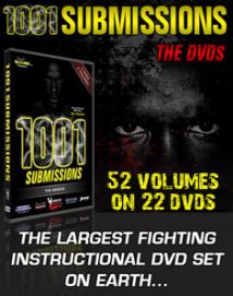 1001 Submissions dvds - 22 Dvd Set