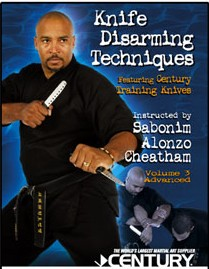 Advanced Knife Disarming Techniques  - DVD