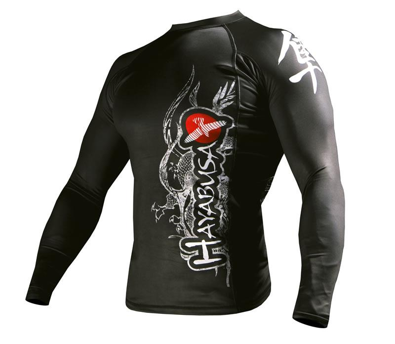 Hayabusa Long Sleeve Dragon Rash Guard