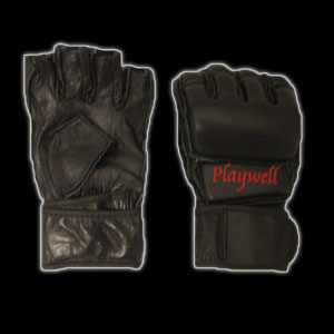 Mixed Martial Arts Gloves - Full Leather Construction