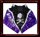 Muay Thai Competition Skull Fight shorts