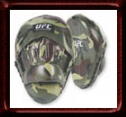 Official UFC Camo Curved Focus Mitts